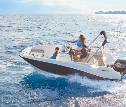 Quicksilver 555 Open from Marine Tech