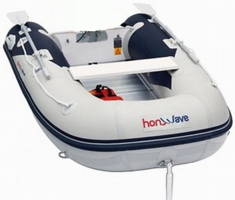 honwave T25-ae inflatable from Marine Tech