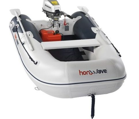 honwave inflatable t25-se from Marine Techh