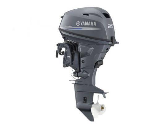 Yamaha F25 Gel 25hp Four Stroke Electric Start Outboard border=