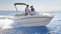 Quicksilver 455 Activ Cabin - stock boat from Marine Tech