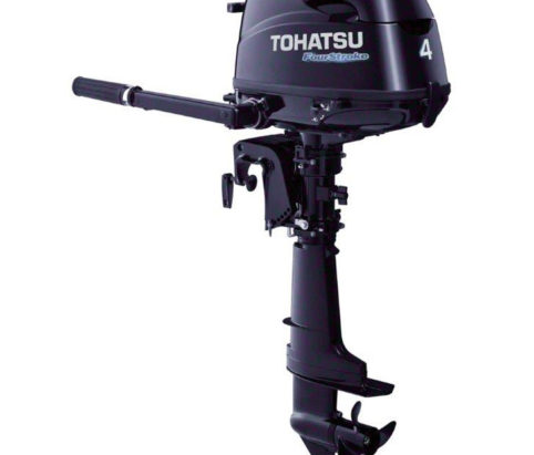 Tohatsu 4hp four stroke outboard from Marine Tech