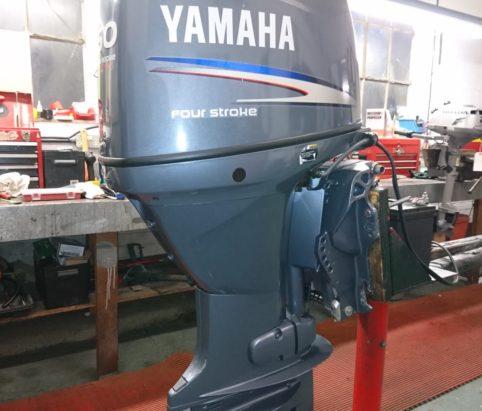 Yamaha 50hp used outboard engine