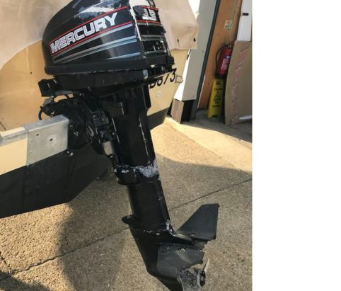 1994 Mercury 9.9hp outboard from Marine Tech