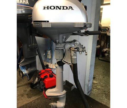 2017 Used Honda 2.3hp outboard engine from Marine Tech