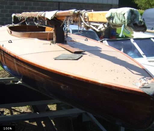 1904 Broads One Design (Brown Boat BOD With Trailer