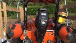 Ex Lifeboat RIB for sale from Marine Tech, South Walsham