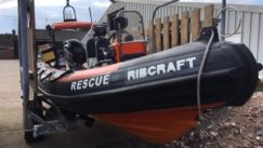 5M Ribcraft - ex inshore Lifeboat fully MCA coded