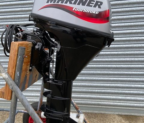 Mariner F9.9 EL used outboard from Marine Tech, South Walsham
